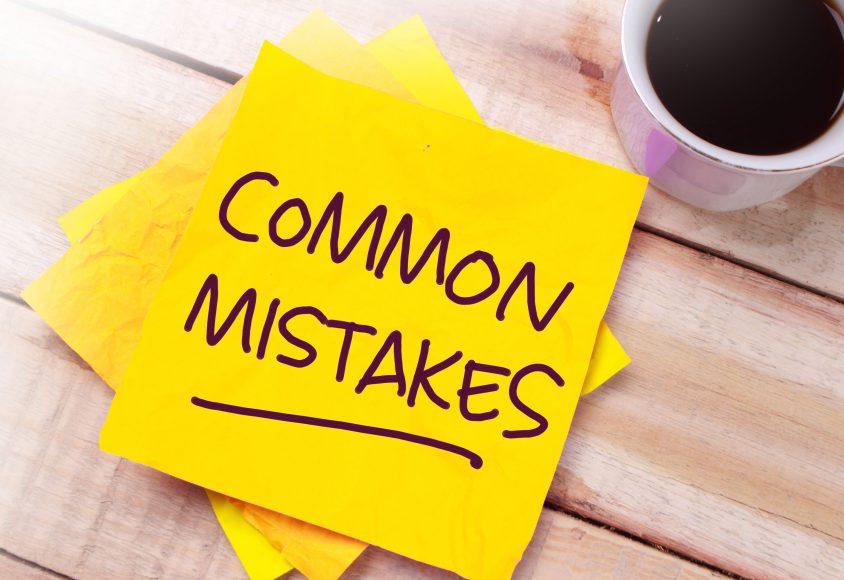Popularne błędy popełniane przy zamawianiu strony