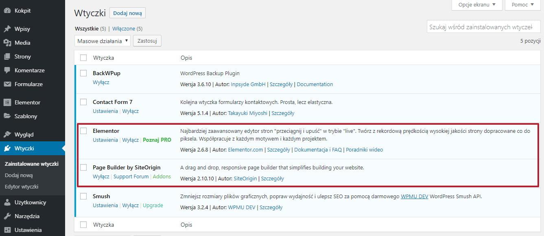 2 wtyczki do tego samego w WordPressie - Jak przyspieszyć bloga na WordPress usuwając niepotrzebne wtyczki?