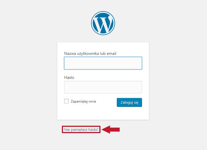 Jak zresetować hasło do WordPressa