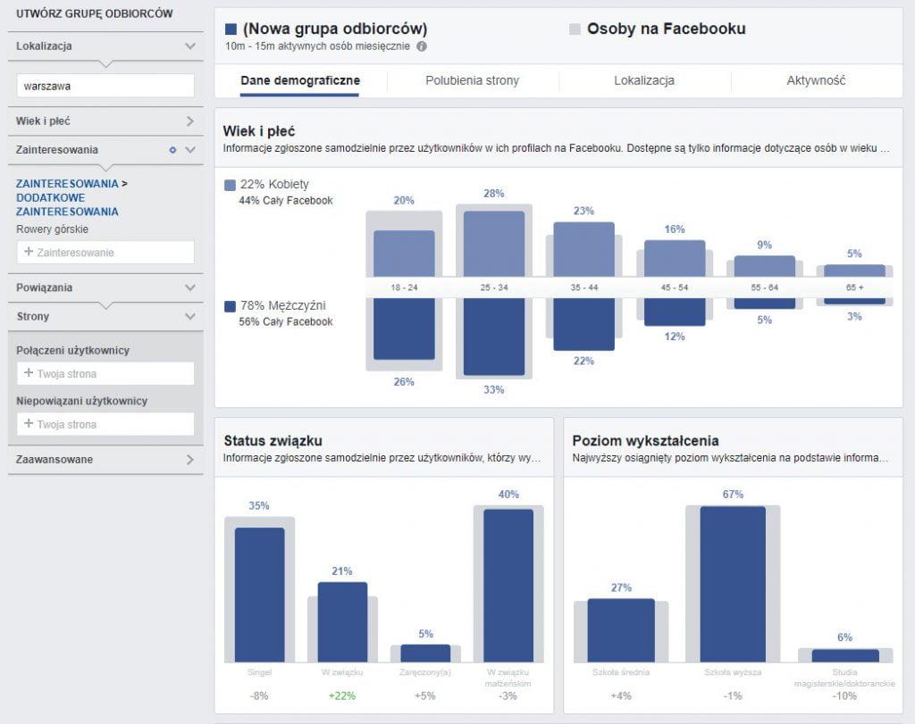 Badania i analizy uławiające uruchomienie własnej strony www - pomoże Ci Audience Insights