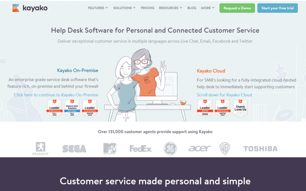 Kayako jako popularny system obsługi klienta