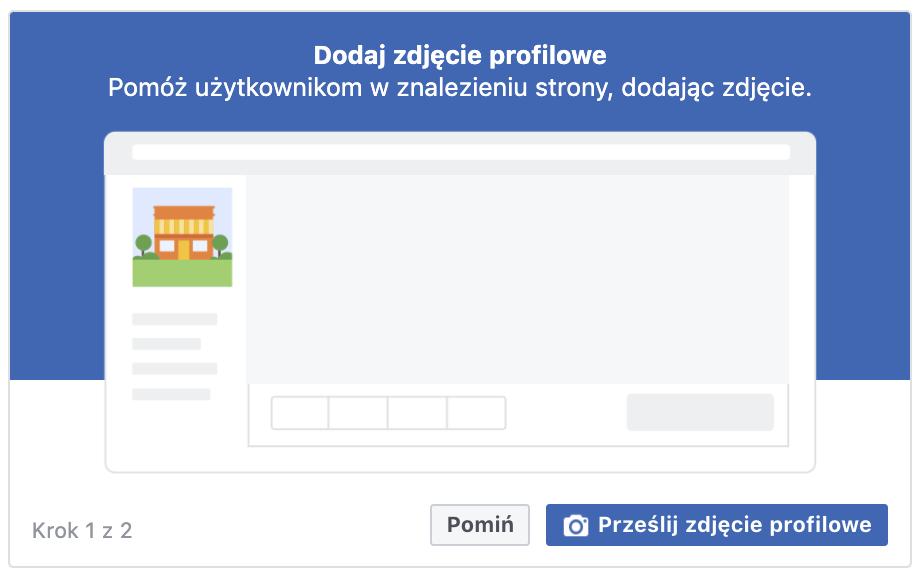 dodaj zdjęcie profilowe na facebooku