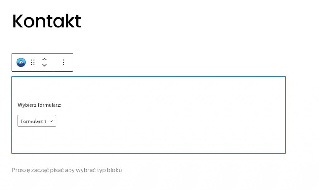 Jak umieścić formularz kontaktowy na stronie