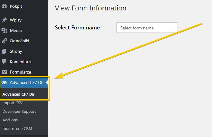 Jak zrobić, żeby informacje z formularza zapisywały się do bazy danych