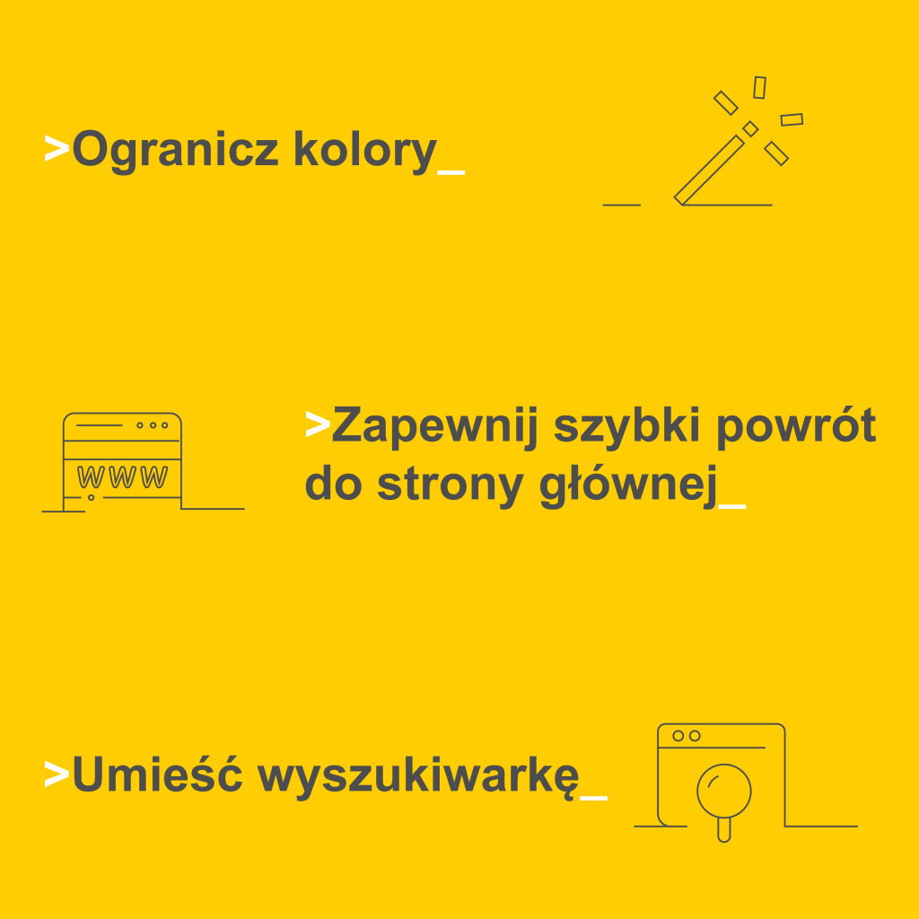 User experience porady