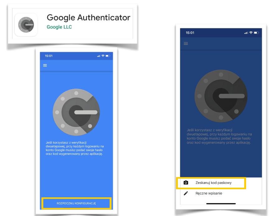 google authenticator zabezpieczenie konta na facebook