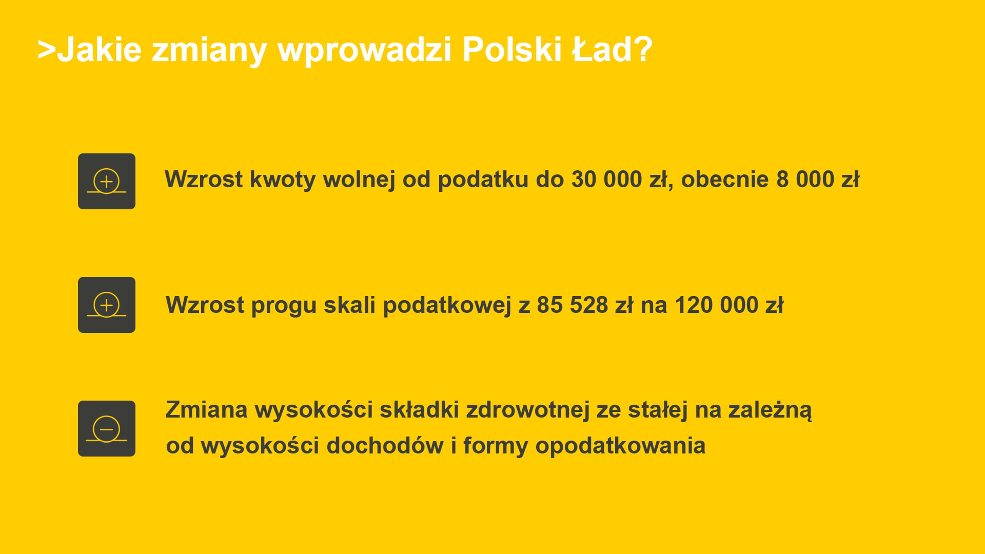 polski ład zmiany